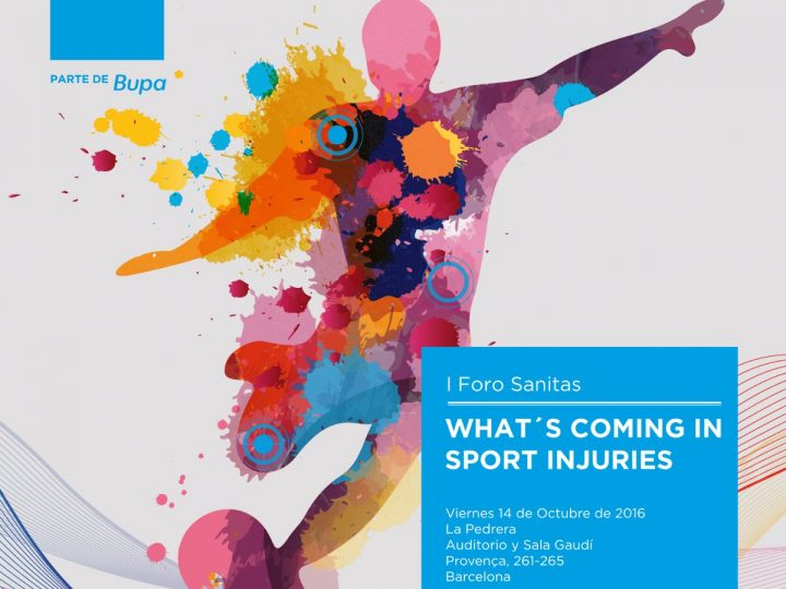 I Foro Sanitas What's Coming In Sports Injuries