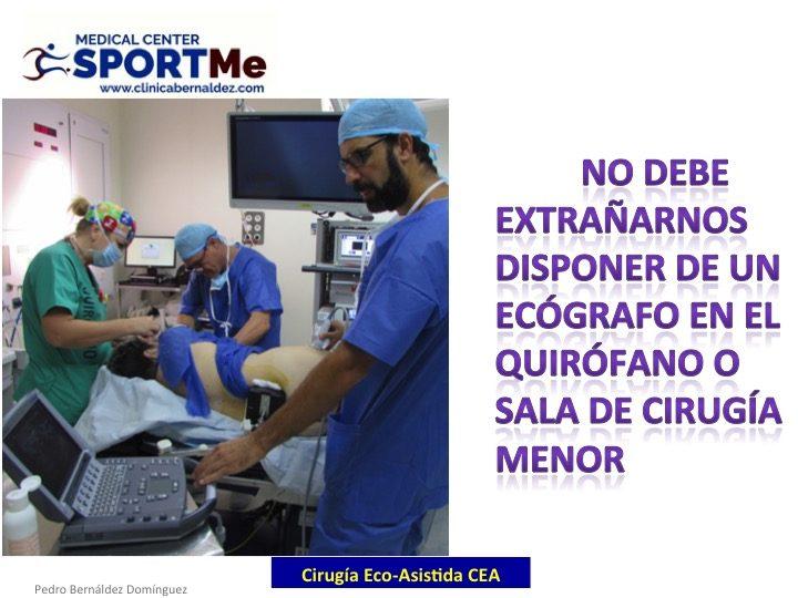 Cirugia Eco-Artroscopica en Cadera