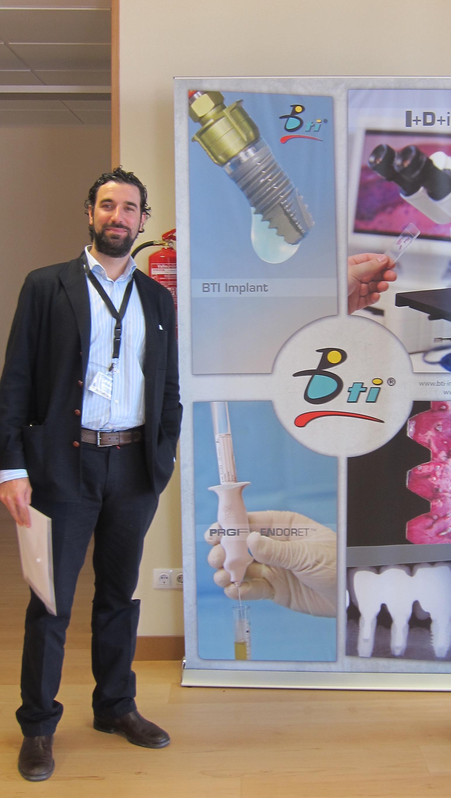 Dr Bernaldez en curso de BTI