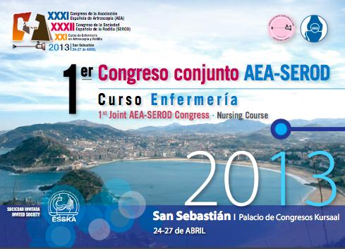 Crónica 1º Congreso conjunto AEA-SEROD<br/>Asociación Española de Artroscopia &#8211; Sociedad Española de Rodilla