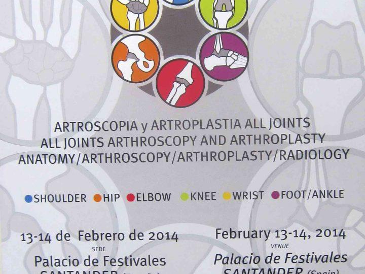 El Dr.Bernáldez es invitado a un prestigioso curso Europeo de Artroscopia