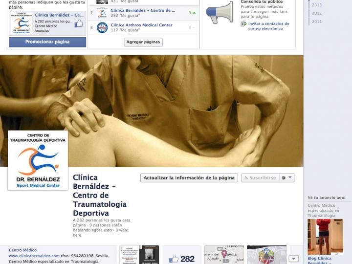 Conoce nuestra página de Facebook traumadeportiva