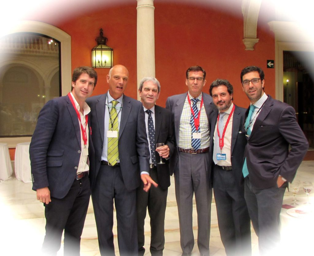 DRS CANSINO,CALERO,RIBAS,TERRADO,NARANJO Y BERNALDEZ 18º JORNADA AEMEF SEVILLA 19 MAYO 2014