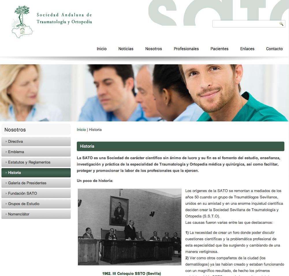 Historia de la Sociedad Sevillana de Traumatología y Ortopedia