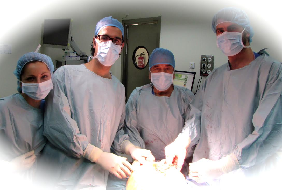 Visita del Dr. Vicente Olmedo