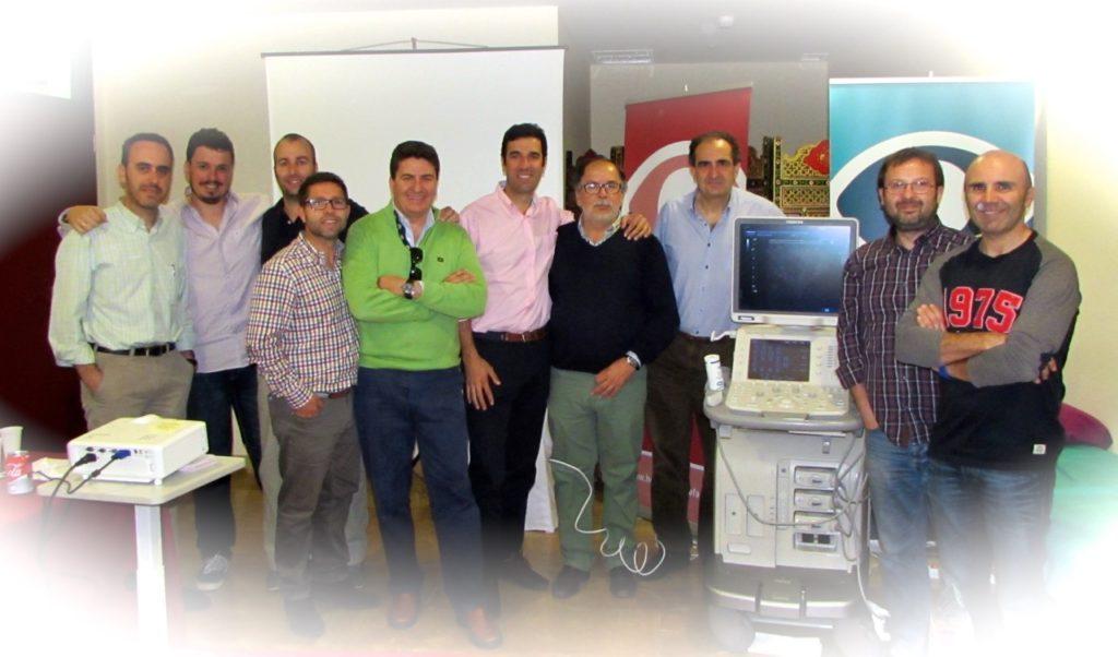 Asistentes-curso-eco-dr-balius-muslo-córdoba-abril-2015