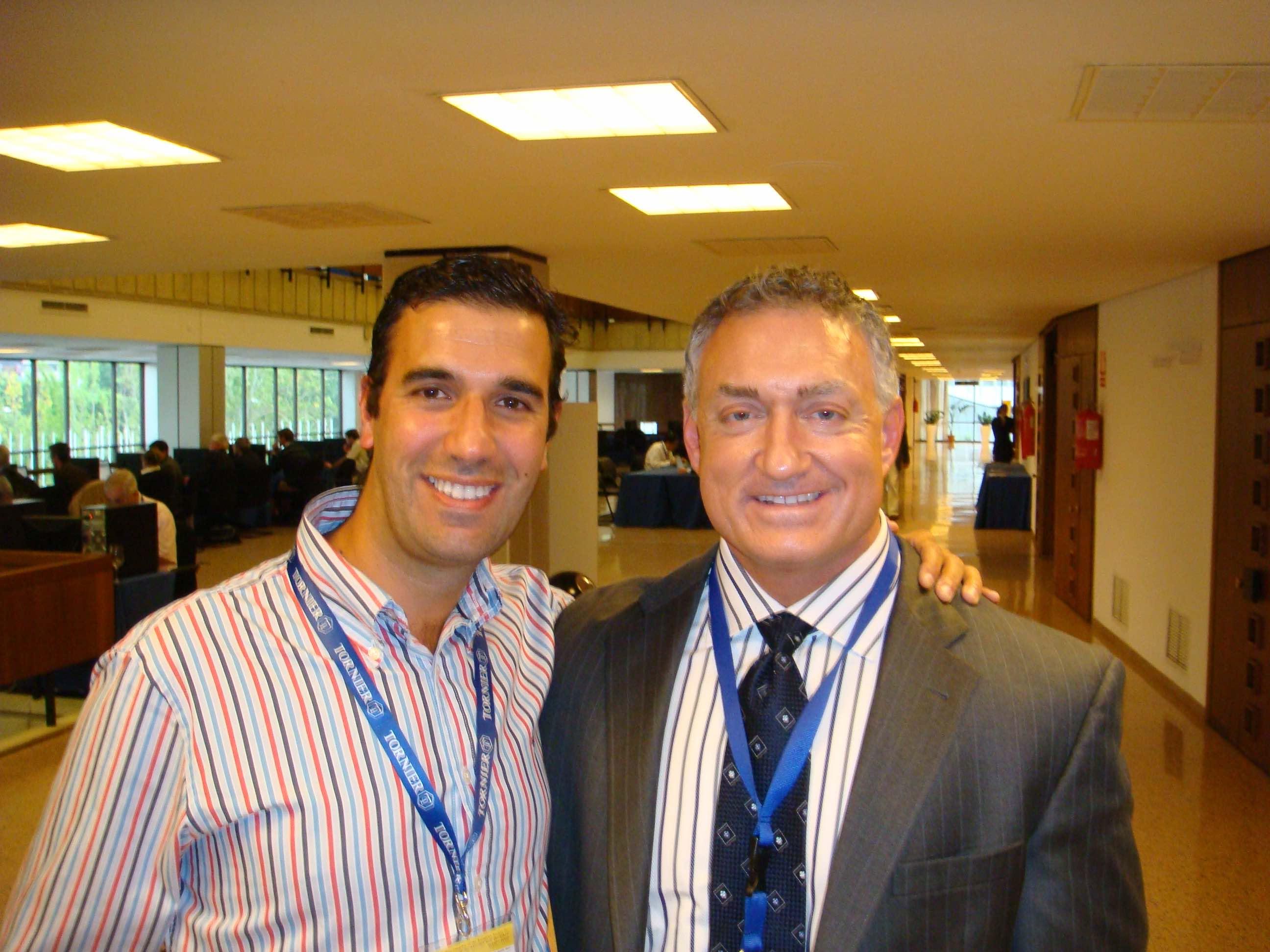 dr bernaldez with dr romeo