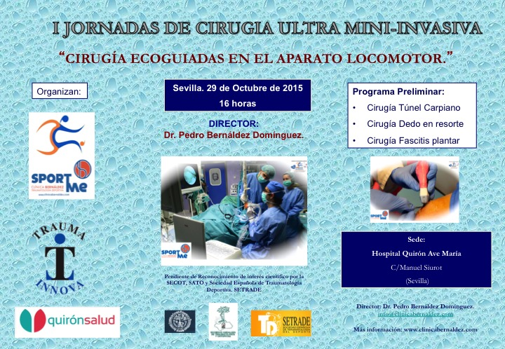 I Jornadas de Cirugía Ultra Mini-Invasiva