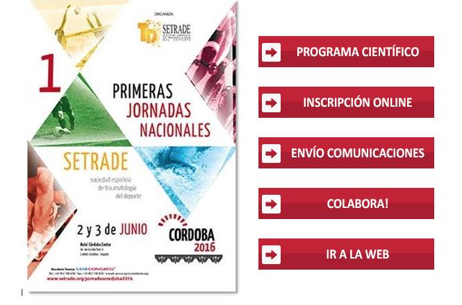 Cartel I Jornadas Nacionales SETRADE (Córdoba)