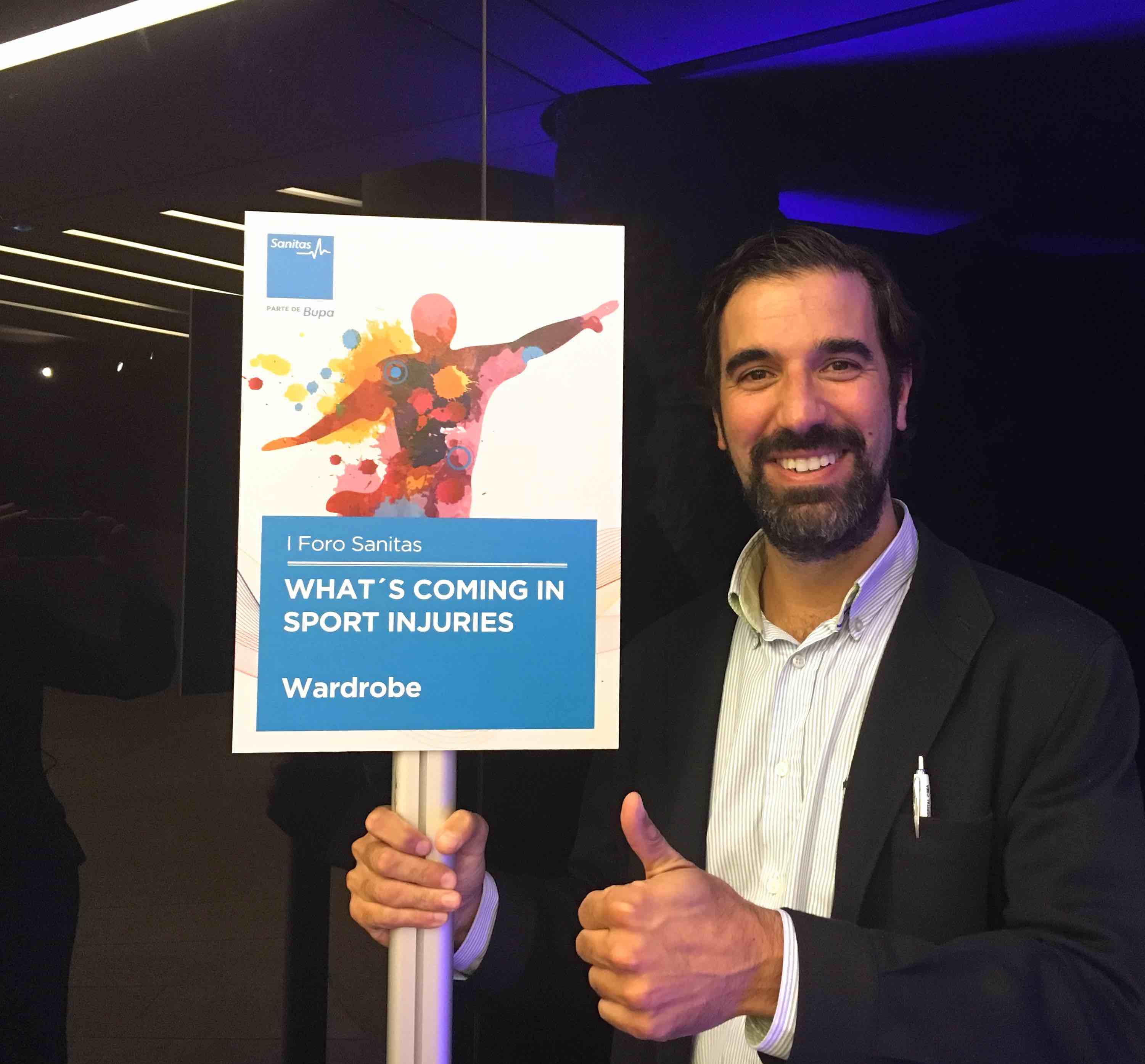 """Crónica I Foro Sanitas 2016 """"What´s coming in sport injuries"""""""