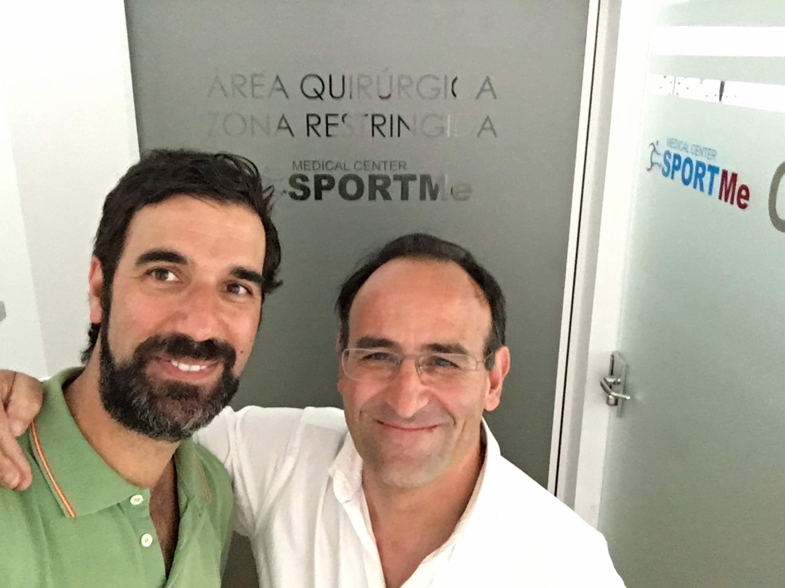 Drs Bernaldez y Prieto en SportMe 2