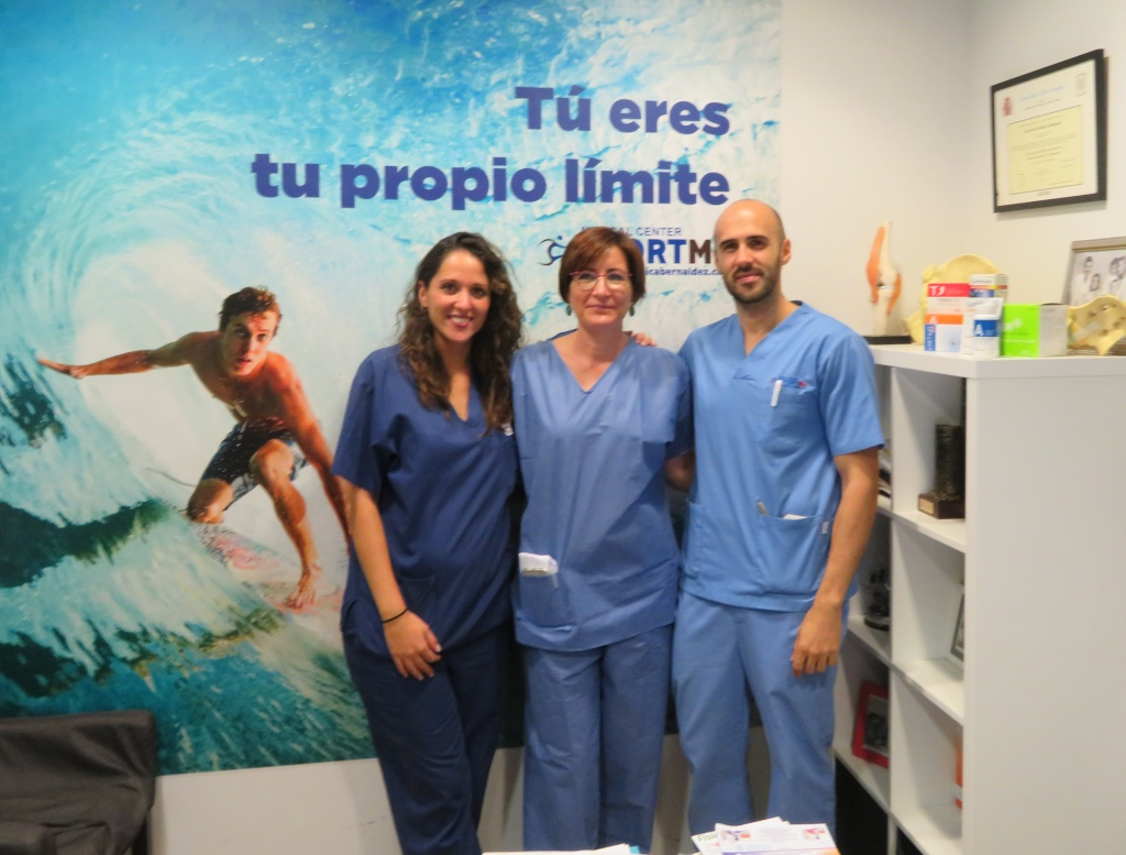 Equipo Enfermería SportMe Sevilla