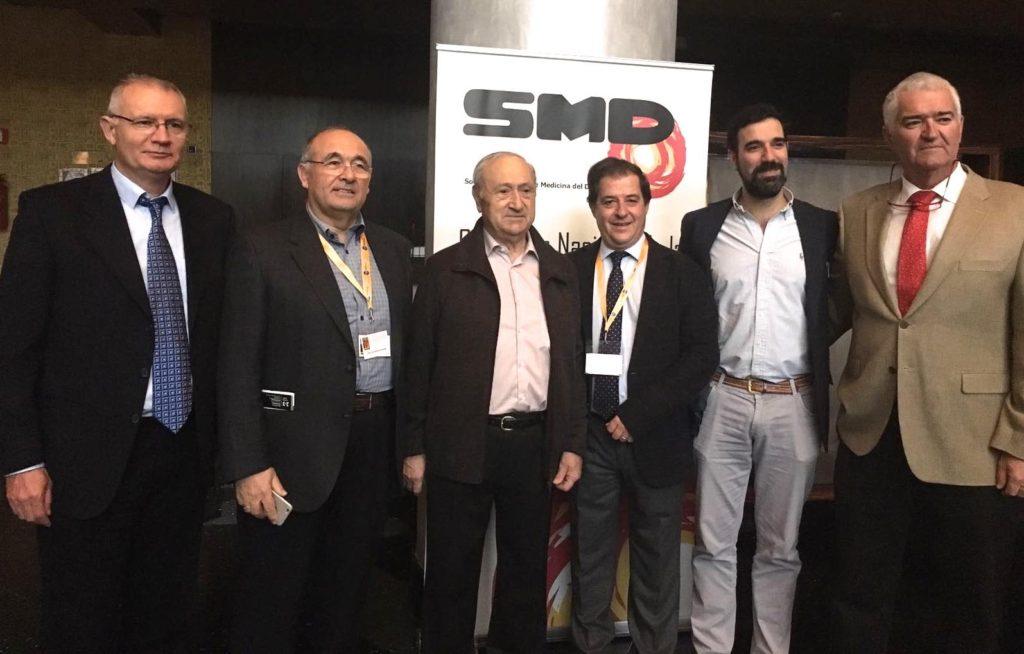 Acompañados por el Dr Pedro Guillen de Madrid
