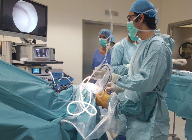 rotura menisco artroscopia rodilla 1