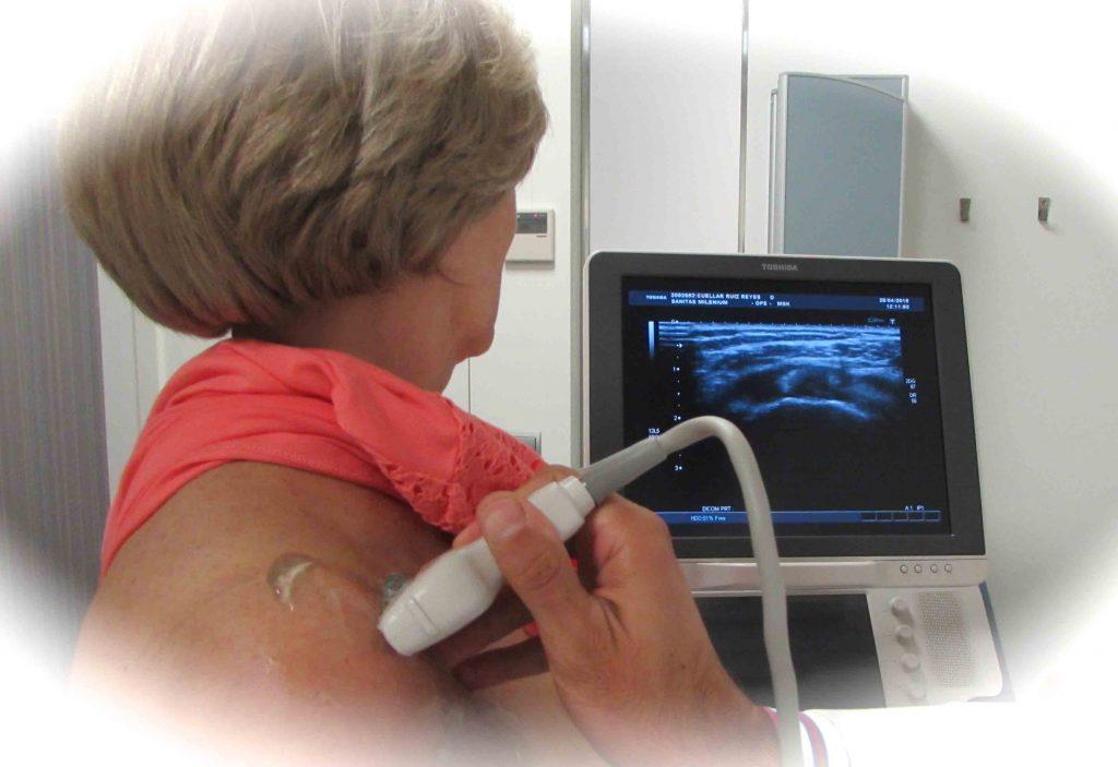 11 ecografia de hombro dinamica inocua bajo coste
