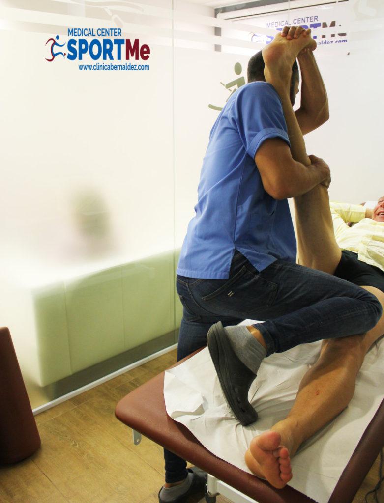 Ganancia de amplitud articular tras limpieza Artroscopica