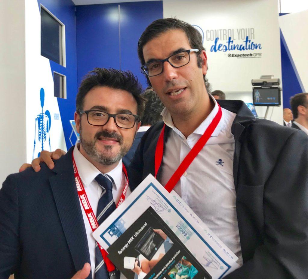 Drs Pedro Delgado y Pedro Bernáldez
