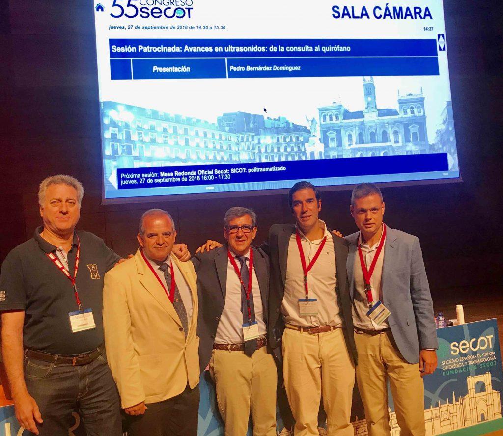 Componentes Grupo GANCHO. Dr Cardenas,Flores,Lopez Arevalo,Bernaldez y Tallón