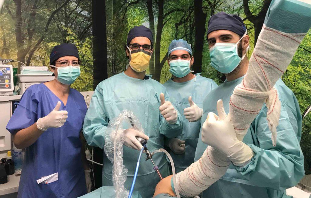 operacion hombro Victor Puerto