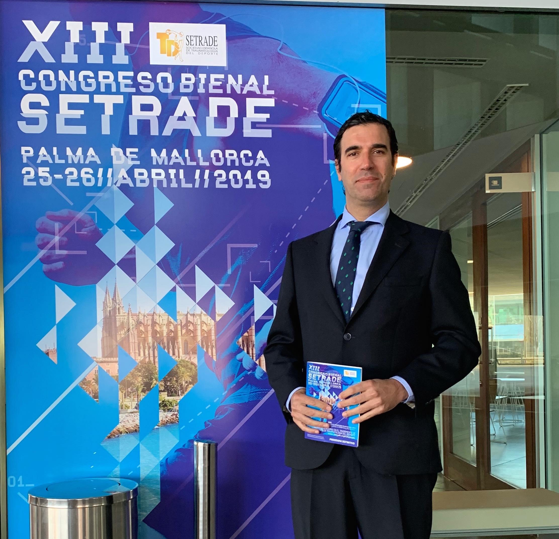 El equipo de SportMe Medical Center participa en el XIII Congreso Nacional SETRADE