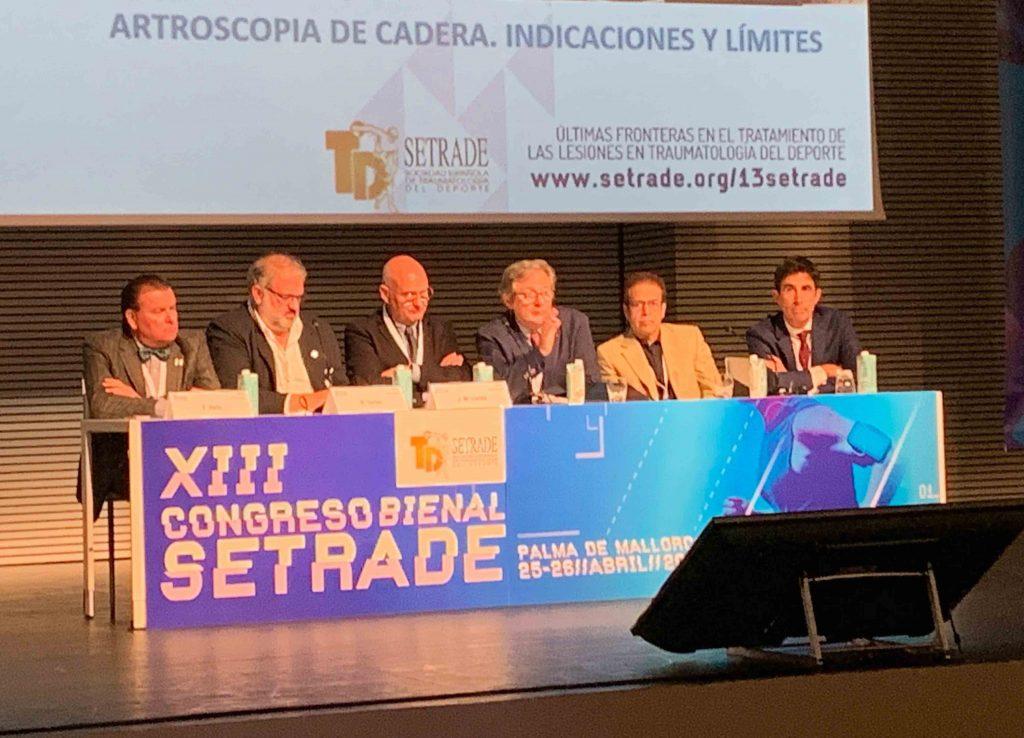 Mesa Expertos en Cadera en XIII Congreso Nacional SETRADE