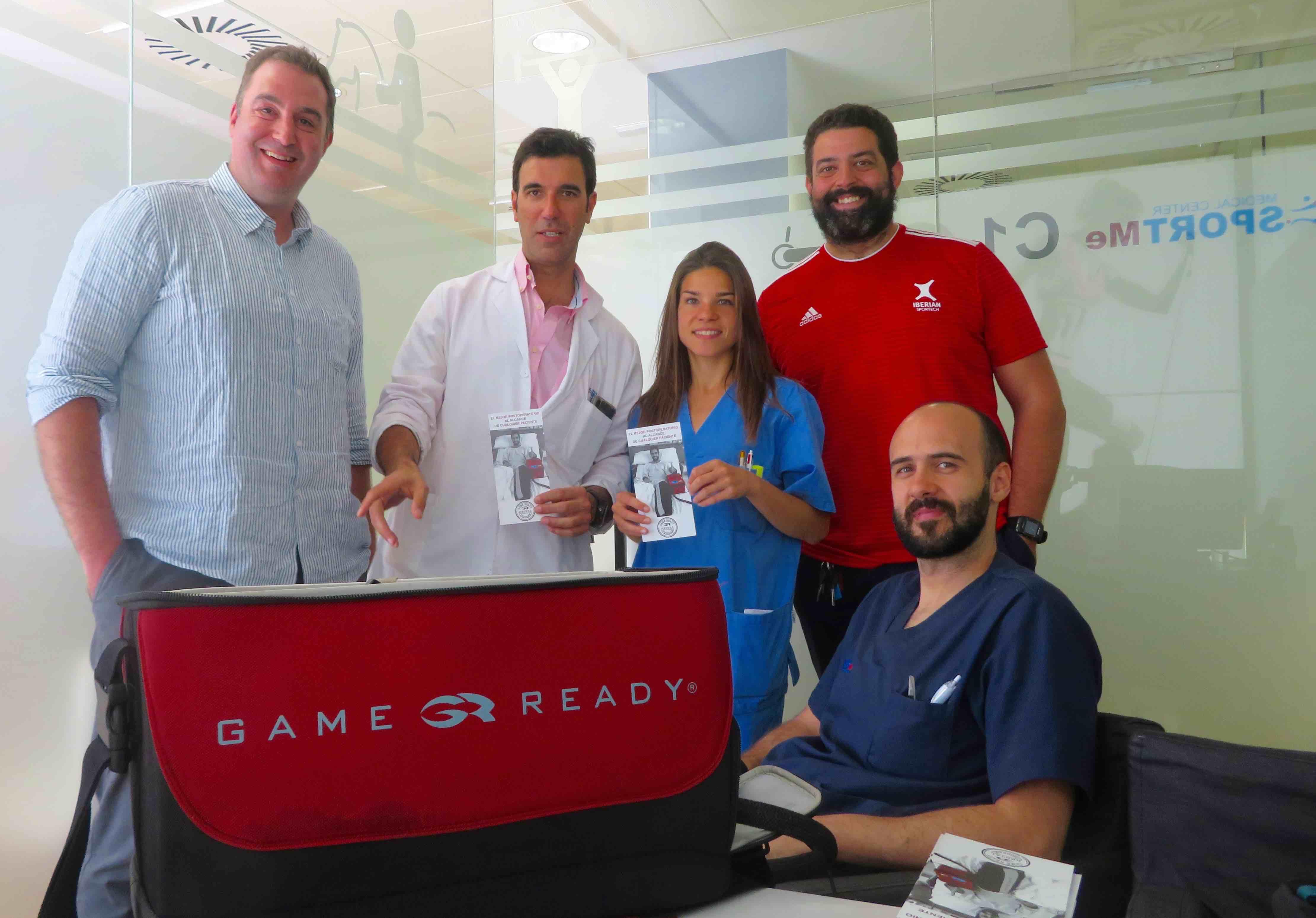 SportMe incorpora el sistema Game Ready Total Recovery para recuperacion de las lesiones y postoperados