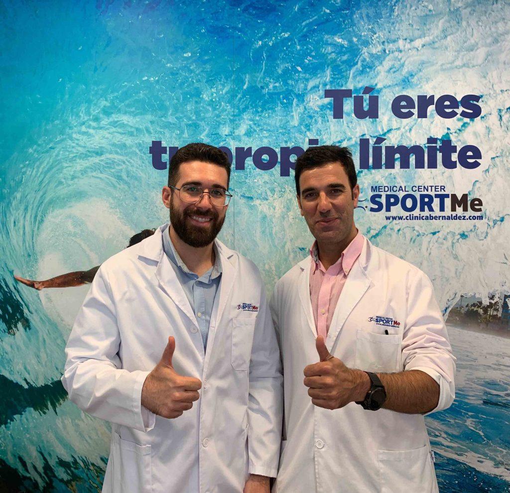 CARLOS PALOMO NUTRICIONISTA Y DR PEDRO BERNALDEZ scaled scaled
