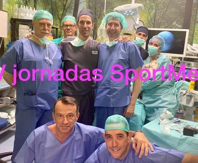 V jornadas cirugía deportiva SportMe: Cirugía Artroscopica en las inestabilidades de rodilla en deportista.