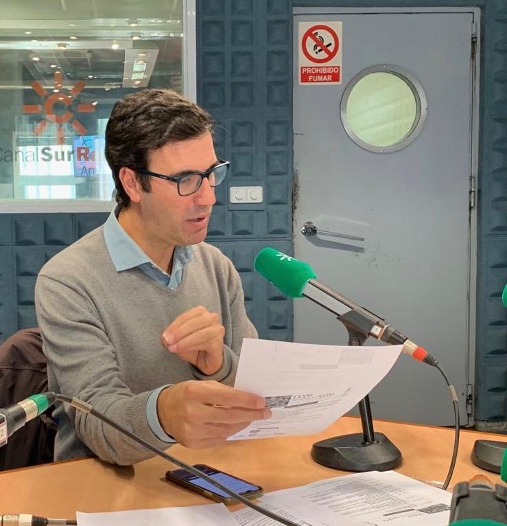 Entrevista al Dr Bernáldez CanalSur Radio Por tu Salud. Importancia de la Ecografia MSK en el diagnóstico de lesiones deportivas en la consulta