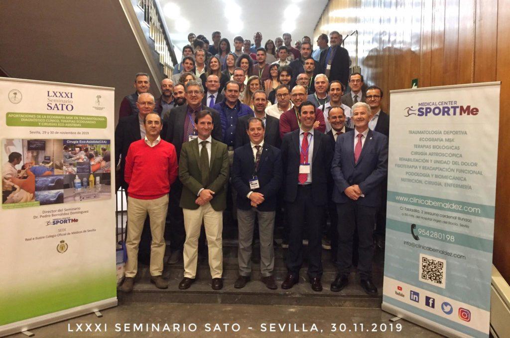 Asistentes 81º Seminario SATO SPORTME Sevilla.