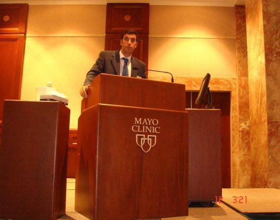 31 Dr Bernaldez en la Mayo Clinic Docencia