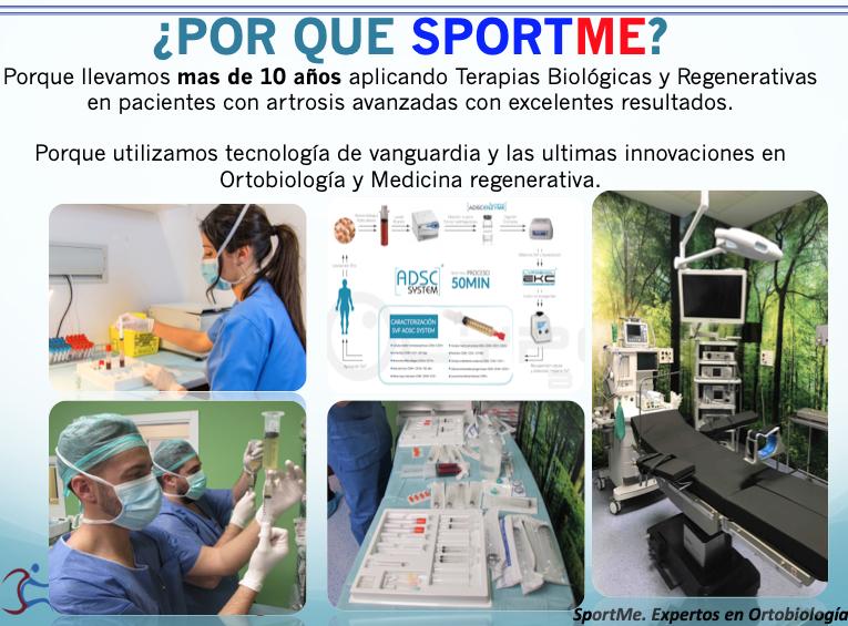 Ortobiología SportMe Medical Center 2