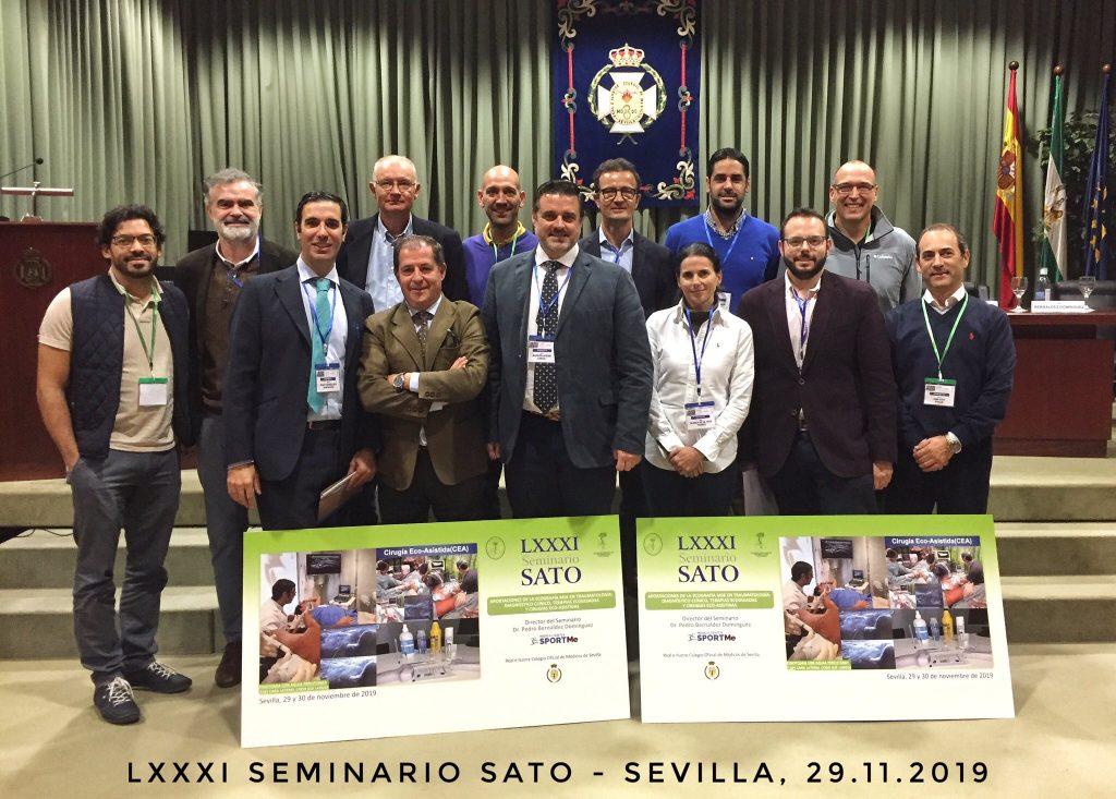 Ponentes y Expertos EcoMSK 81º Seminario SATO SPORTME Sevilla.