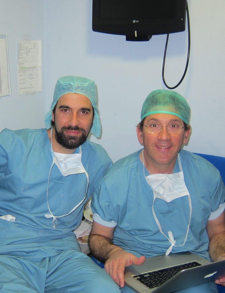 Drs Bernáldez y Mikel Sánchez