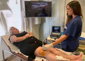 Papel de le Enfermería en los ultrasonidos MSK