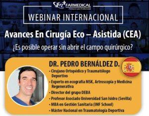 Webinario Internacional Avances en Cirugia Eco Asistida CEA y Terapias Biologicas