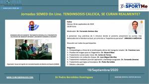 Programa presentacion Seminario web ECO Tendinosis Calcica SEMED
