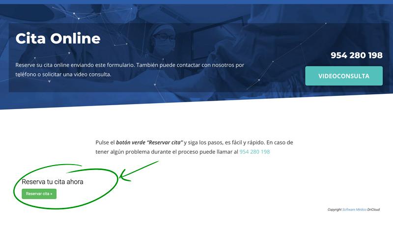 Nuevos servicios: cita online y videoconsulta online
