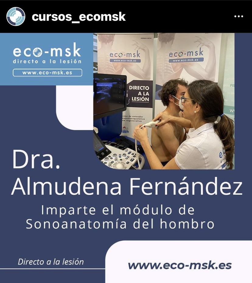 Promo Curso Sonoanatomia Hombro Curso Eco-Msk