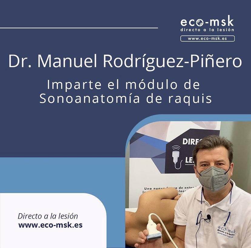 Promo Curso Sonoanatomia Raquis Curso Eco-Msk